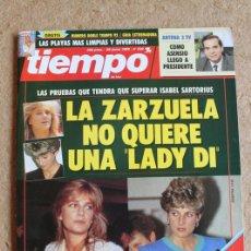 Coleccionismo de Revista Tiempo: REVISTA TIEMPO. Nº 530. 29 DE JUNIO 1992. LA ZARZUELA NO QUIERE UNA LADY DI.. Lote 120214731