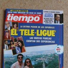 Coleccionismo de Revista Tiempo: REVISTA TIEMPO. Nº 528. 15 DE JUNIO 1992. EL TELE-LIGUE.. Lote 120214831