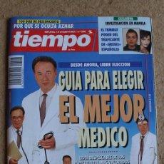 Colecionismo da Revista Tiempo: REVISTA TIEMPO. Nº 596. 4 OCTUBRE 1993. GUÍA PARA ELEGIR EL MEJOR MÉDICO.. Lote 120215471