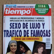 Coleccionismo de Revista Tiempo: REVISTA TIEMPO. Nº 593. 13 DE SEPTIEMBRE 1993. SEXO DE LUJO Y TRÁFICO DE FAMOSAS.. Lote 120215883