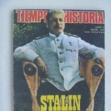 Coleccionismo de Revista Tiempo: TIEMPO DE HISTORIA , Nº 60, 1979: STALIN EL TERRIBLE, ANDRES NIN, 25 ANIVERSARIO ARGELIA, ETC. Lote 120222115