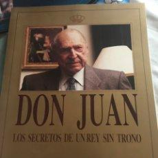 Coleccionismo de Revista Tiempo: DON JUAN. LOS SECRETOS DE UN REY SIN TRONO. REVISTA TIEMPO. Lote 121518546