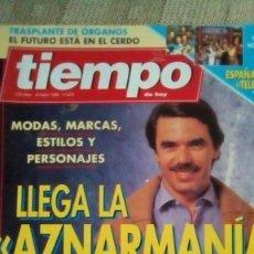 Coleccionismo de Revista Tiempo: GABINETE CALIGARI - KETAMA - DUQUESA DE ALBA - ANUNCIO CITROËN EVASION. Lote 121745763
