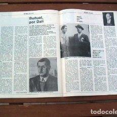 Coleccionismo de Revista Tiempo: REVISTA TIEMPO 1983 / BUÑUEL POR SALVADOR DALI. Lote 122001279