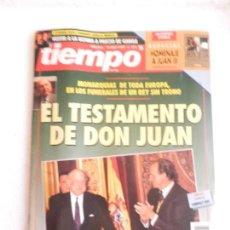 Coleccionismo de Revista Tiempo: REVISTA TIEMPO Nº 571 12 ABRIL DE 1993.. Lote 122163111