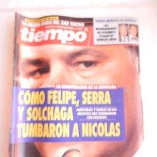 Coleccionismo de Revista Tiempo: REVISTA TIEMPO Nº 598 18 DE OCTUBRE DE 1993.. Lote 122163451