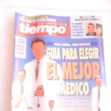 Coleccionismo de Revista Tiempo: REVISTA TIEMPO Nº 596 4 DE OCTUBRE DE 1993.. Lote 122163599