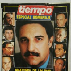 Coleccionismo de Revista Tiempo: REVISTA TIEMPO DE HOY ESPECIAL HOMENAJE LA ESPAÑA QUE DEJÓ PEDRO RODRÍGUEZ. Lote 128496242