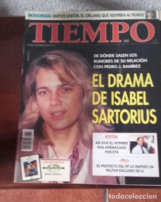 Coleccionismo de Revista Tiempo: Lote revistas Tiempo - Foto 3 - 128536811