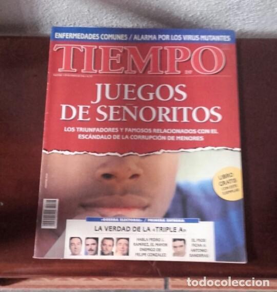 Coleccionismo de Revista Tiempo: Lote revistas Tiempo - Foto 4 - 128536811
