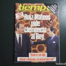 Coleccionismo de Revista Tiempo: REVISTA TIEMPO N. 70 SEPTIEMBRE 1983. RUIZ MATEOS. EL REY. SUÁREZ. GOLPE CORONELES. Lote 131105600