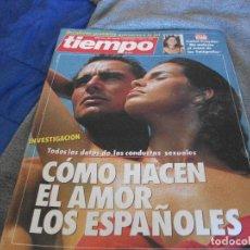 Coleccionismo de Revista Tiempo: TIEMPO COMO HACEN EL AMOR LOS ESPAÑOLES SEP-1986. Lote 132590730