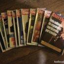 Coleccionismo de Revista Tiempo: LOTE DE 11 REVISTAS TIEMPO. Lote 133359266
