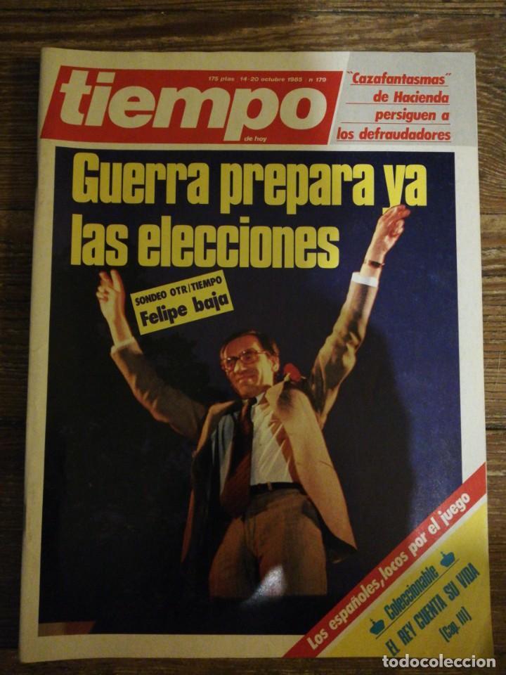 Coleccionismo de Revista Tiempo: Lote de 11 revistas Tiempo - Foto 2 - 133359266