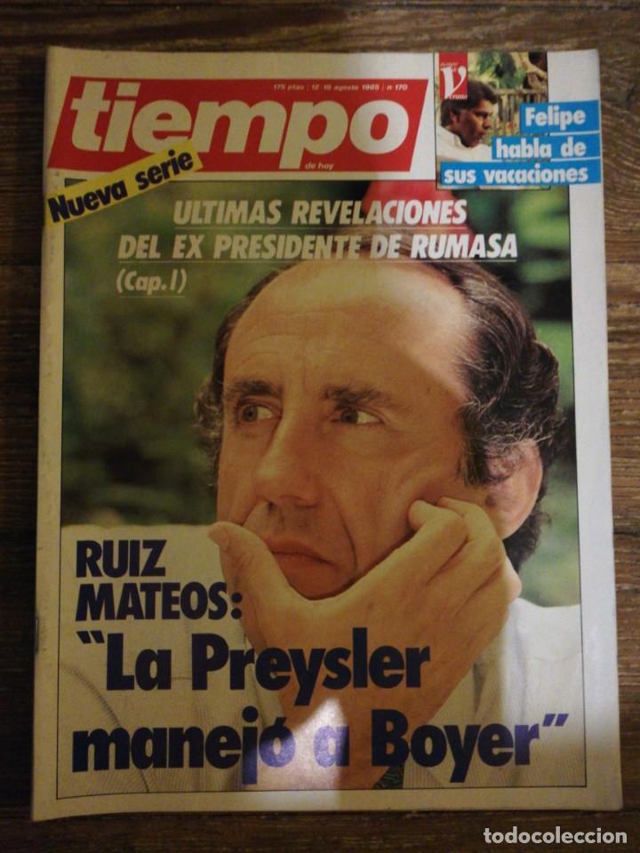 Coleccionismo de Revista Tiempo: Lote de 11 revistas Tiempo - Foto 3 - 133359266
