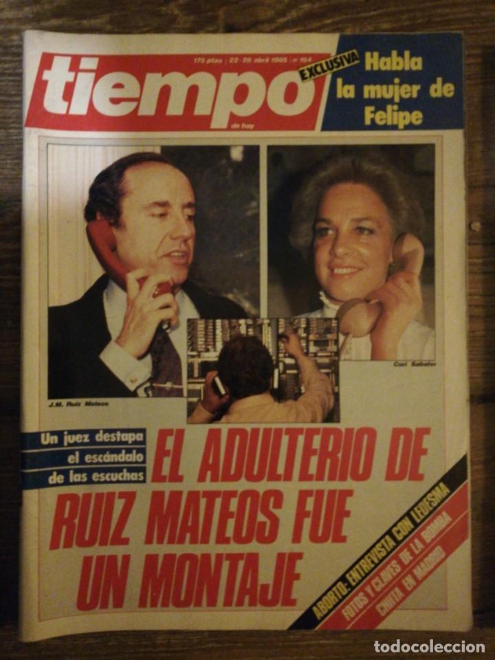 Coleccionismo de Revista Tiempo: Lote de 11 revistas Tiempo - Foto 5 - 133359266