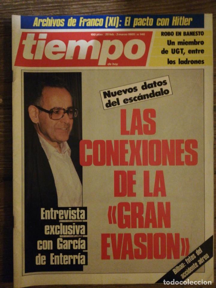 Coleccionismo de Revista Tiempo: Lote de 11 revistas Tiempo - Foto 6 - 133359266