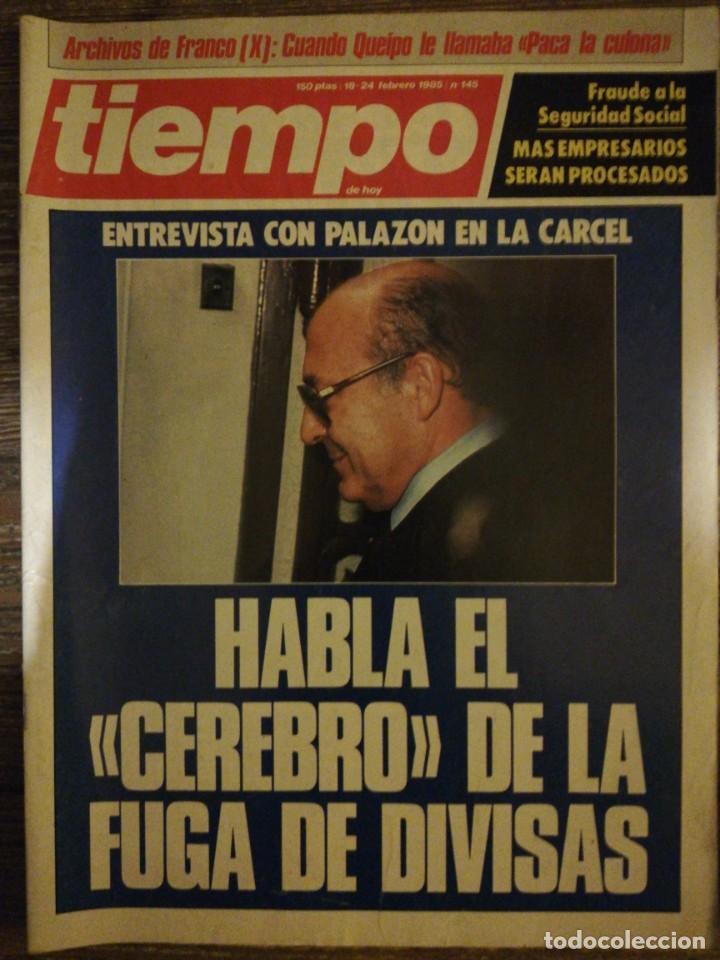 Coleccionismo de Revista Tiempo: Lote de 11 revistas Tiempo - Foto 7 - 133359266