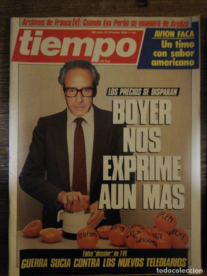 Coleccionismo de Revista Tiempo: Lote de 11 revistas Tiempo - Foto 8 - 133359266