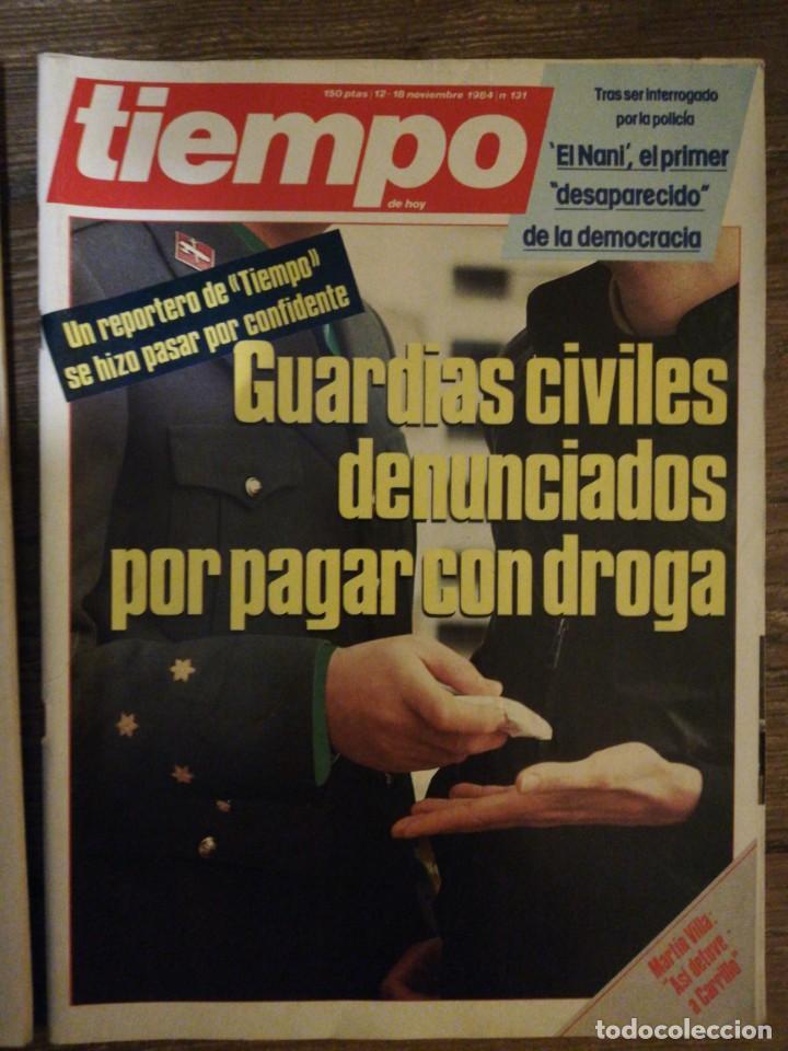 Coleccionismo de Revista Tiempo: Lote de 11 revistas Tiempo - Foto 9 - 133359266