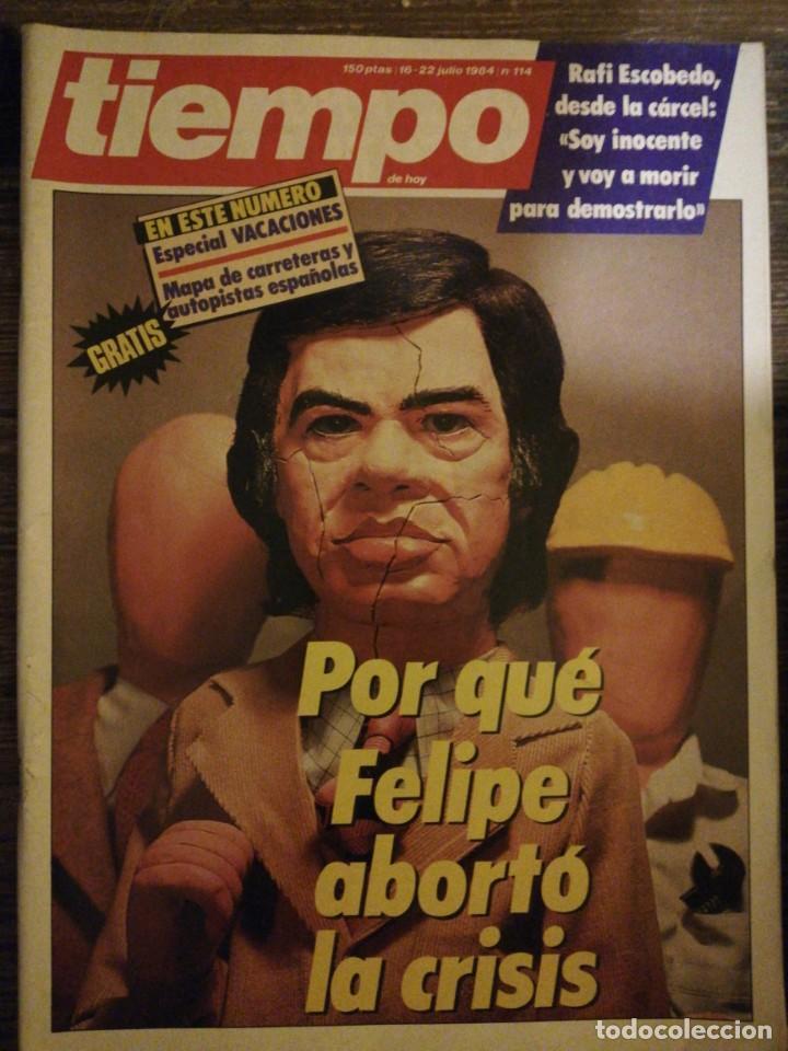 Coleccionismo de Revista Tiempo: Lote de 11 revistas Tiempo - Foto 10 - 133359266