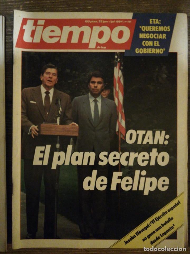 Coleccionismo de Revista Tiempo: Lote de 11 revistas Tiempo - Foto 11 - 133359266