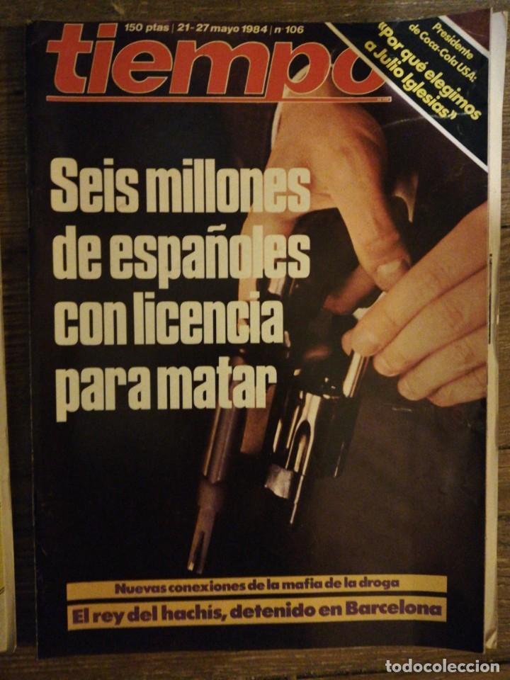 Coleccionismo de Revista Tiempo: Lote de 11 revistas Tiempo - Foto 12 - 133359266
