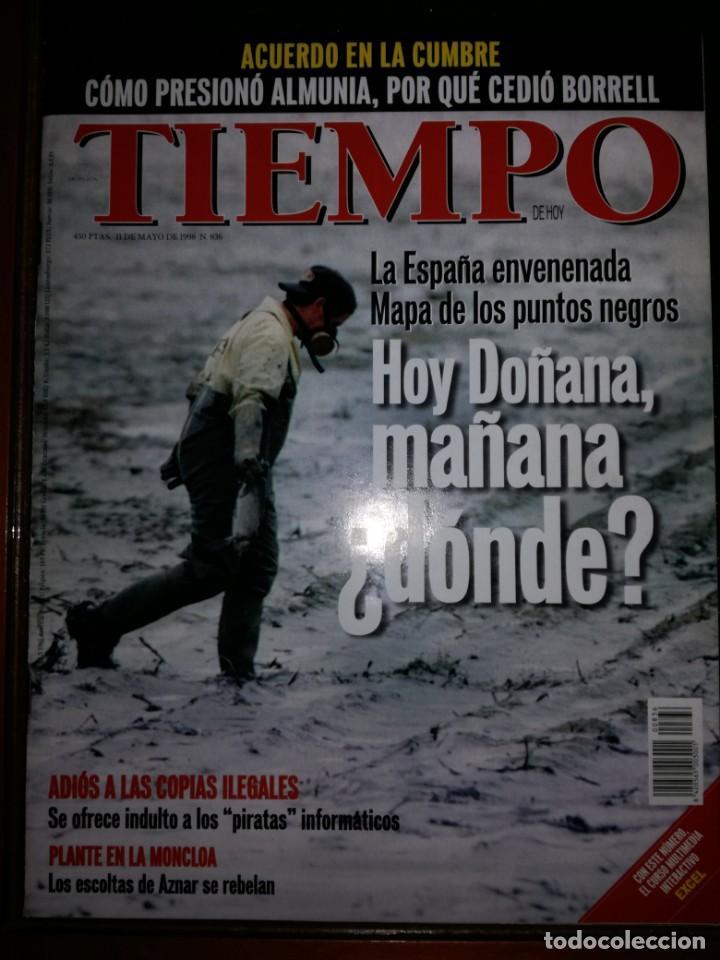 REVISTA TIEMPO Nº 836 - MAYO 1998 (Coleccionismo - Revistas y Periódicos Modernos (a partir de 1.940) - Revista Tiempo)
