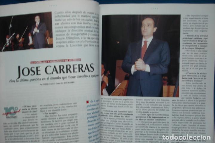 Coleccionismo de Revista Tiempo: TIEMPO DIEZ AÑOS 1982/ 1992 - 10º ANIVERSARIO - Foto 2 - 136366622