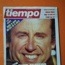 Coleccionismo de Revista Tiempo: TIEMPO DE HOY Nº 141. RUIZ-MATEOS LEVANTA OTRA RUMASA. ENERO 1985. Lote 142354366