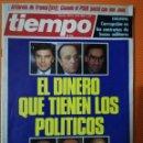 Coleccionismo de Revista Tiempo: TIEMPO DE HOY Nº 142. EL DINERO QUE TIENEN LOS POLÍTICOS. FEBRERO 1985. Lote 142359106