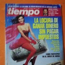 Coleccionismo de Revista Tiempo: TIEMPO DE HOY Nº 308. LA LOCURA DE GANAR DINERO SIN PAGAR IMPUESTOS. 1988. Lote 142472902