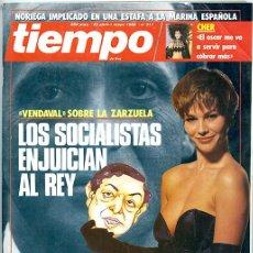 Coleccionismo de Revista Tiempo: TIEMPO. 25 ABRIL-1 MAYO 1988. Nº 311. 200 PP. 'LOS SOCIALISTAS ENJUICIAN AL REY'. Lote 142898034