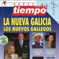 Coleccionismo de Revista Tiempo: MANUEL FRAGA ENTREVISTA - TORRENTE BALLESTER - 100% GALICIA VER IMAGEN SUMARIO JULIO DE 1993 . Lote 142986082