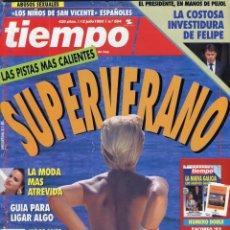 Coleccionismo de Revista Tiempo: MIGUEL INDURAIN, REPORTAJE 10 FOTOS- NACHO DUATO BAILARIN VER IMAGEN SUMARIO JULIO DE 1993 . Lote 142986542