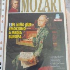 Coleccionismo de Revista Tiempo: MOZART EL NIÑO QUE EMOCIONO A MEDIA EUROPA - TIEMPO - VHS+REVISTA. Lote 143252758