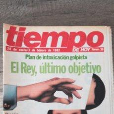 Coleccionismo de Revista Tiempo: REVISTA EL TIEMPO 36 / FEBRERO 1982 / EL REY , ROSON , EL PAPA , 47. Lote 145797314