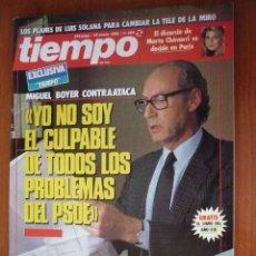 Coleccionismo de Revista Tiempo: REVISTA TIEMPO Nº 350, ENERO 89. REGALO EL LIBRO DEL AÑO (III). Lote 146257074