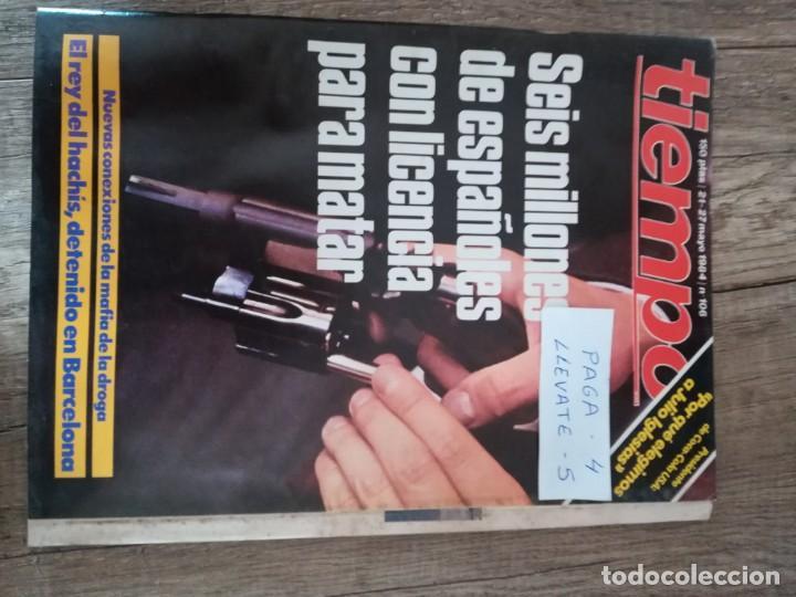 REVISTA TIEMPO 106 * AÑO 1984 * PRESIDENTE DE COCA-COLA + JULIO IGLESIAS + MARADONA * 51 (Coleccionismo - Revistas y Periódicos Modernos (a partir de 1.940) - Revista Tiempo)