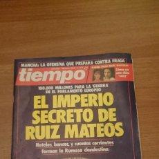 Coleccionismo de Revista Tiempo: REVISTA TIEMPO 26 JUNIO 1989 -Nº 373. Lote 150087574
