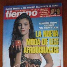 Coleccionismo de Revista Tiempo: REVISTA TIEMPO Nº 347, ENERO 89. Lote 151906206