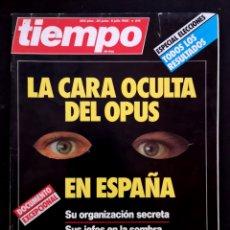 Coleccionismo de Revista Tiempo: REVISTA TIEMPO 1986. Lote 155602832