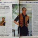 Coleccionismo de Revista Tiempo: RECORTE REVISTA TIEMPO Nº 472 1991 MARÍA SAN JUAN. Lote 158016114