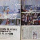 Coleccionismo de Revista Tiempo: RECORTE REVISTA TIEMPO Nº 472 1991 ANA OBREGON, MADONNA. Lote 158016214