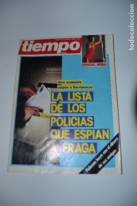 REVISTA TIEMPO DE 1985 Nº158 (Coleccionismo - Revistas y Periódicos Modernos (a partir de 1.940) - Revista Tiempo)