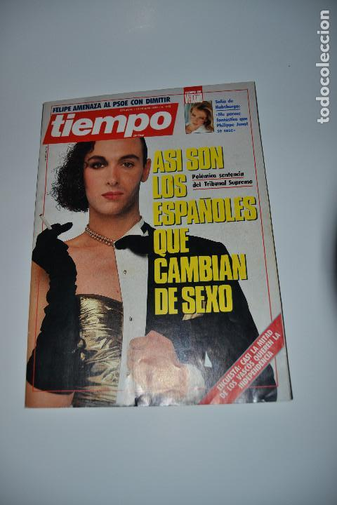 REVISTA TIEMPO DE 1987 Nº270 (Coleccionismo - Revistas y Periódicos Modernos (a partir de 1.940) - Revista Tiempo)