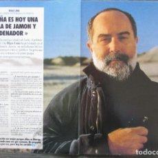 Coleccionismo de Revista Tiempo: RECORTE REVISTA TIEMPO Nº 542 1992 BIGAS LUNA 3 PGS. Lote 163008438