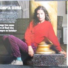 Coleccionismo de Revista Tiempo: RECORTE REVISTA TIEMPO Nº 547 1992 ASSUMPTA SERNA. 4 PGS. Lote 163008510