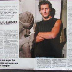 Coleccionismo de Revista Tiempo: RECORTE REVISTA TIEMPO Nº 547 1992 MANUEL BANDERA. Lote 163008570