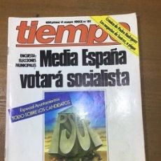 Coleccionismo de Revista Tiempo: REVISTA TIEMPO NÚMERO 51. Lote 165397969